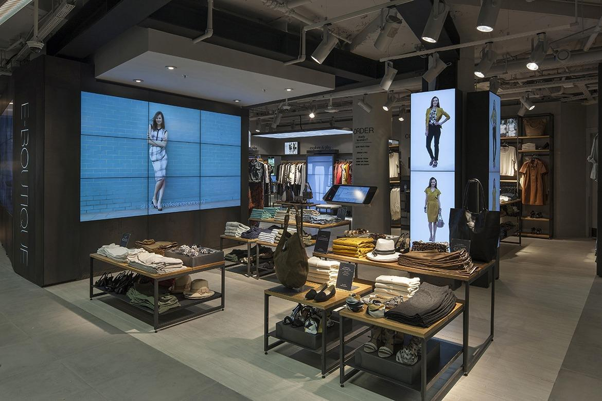 Marks and spencer amsterdam concept store
