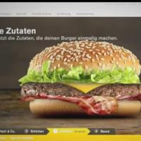 McDonalds trial iPads to build your own burger