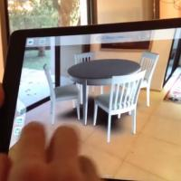 See what furtniture looks like in your home using iPad