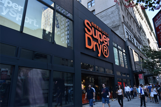 superdry flagship store
