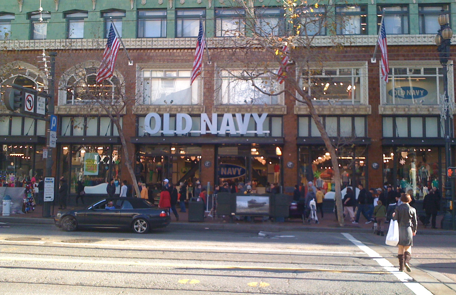 old navy flagship store
