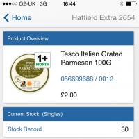 Tesco new app for store colleagues