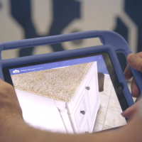 Lowe's in store augmented reality room designer
