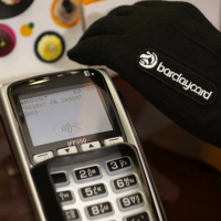 Pay by glove with barclaycard