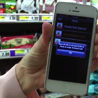 Shoprite show barcode scanning using phones now a lot faster