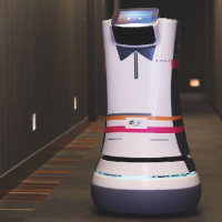 Hotel introduces a robot butler