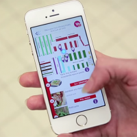 Carrefour trial indoor positioning using lighting