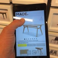 Made.com launch a new NFC enabled London showroom