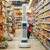 Tally robot store replenishment stocking shelves