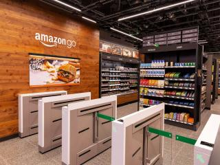 Amazon go store gates
