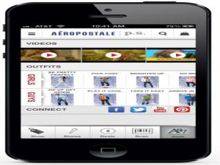 aeropostale iphone app