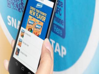mondelez shelf talks nfc