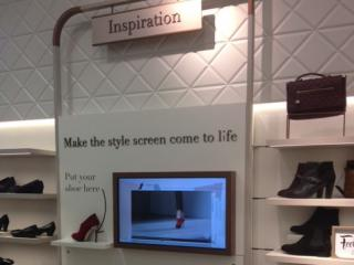 marks and spencer digital footwear station