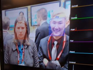 Intel's emotion sensing cameras
