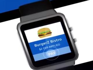 Pay by watch with a Samsung and PayPal