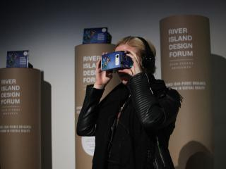 River Island customers join virtual reality catwalk using their phones