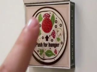 Fridge magnet that orders pizza for you