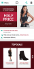 debenhams screenshot - mobileweb homepage