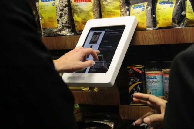 coles retail evolution lab tablet