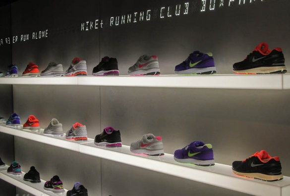 2c94c237df5d6 Nike FuelStation interactive store in London's Shoreditch | Retail ...