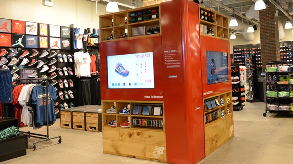footlocker new balance kiosk