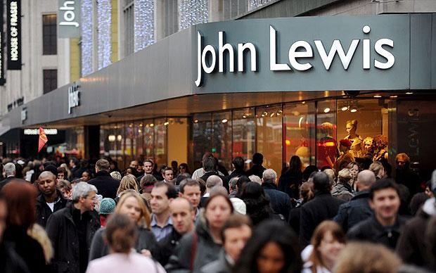 John Lewis in store tablet trial