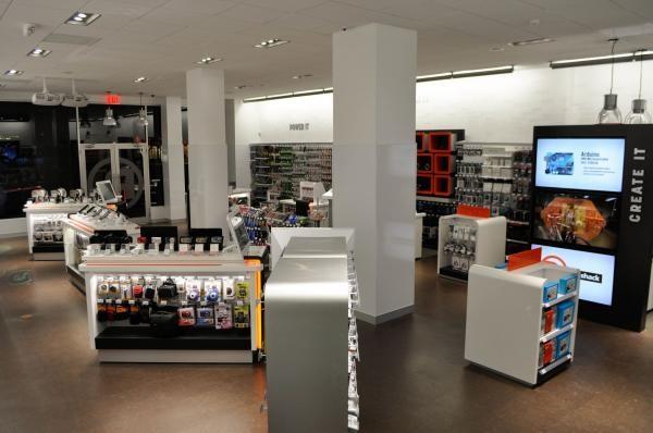 Radioshack's concept stores | Retail Innovation