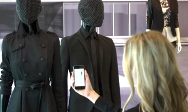 Bluetooth enabled mannequins