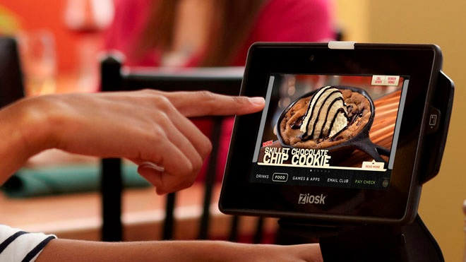 Largest tablet rollout happens at Chillis restaurants