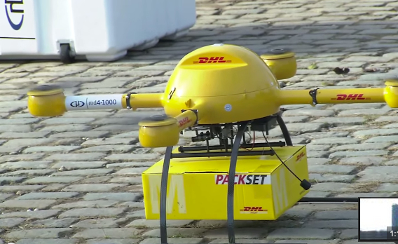 DHL Now Using Drones For Delivery
