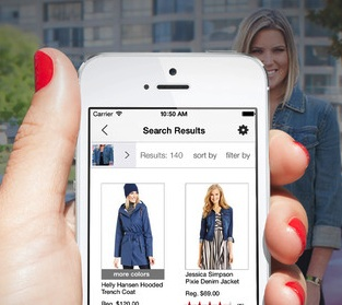 Macy's launch image search app